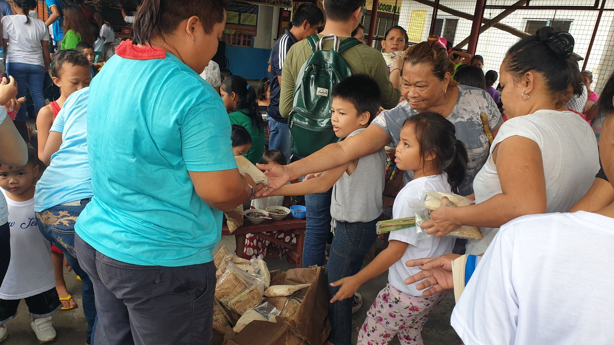 Providing Nutritious Rice to Flood Victims