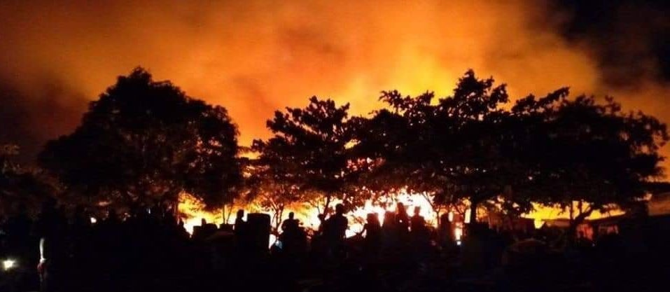 Largest Fire Yet in Bacoor City