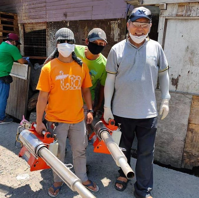Fumigation of the Area
