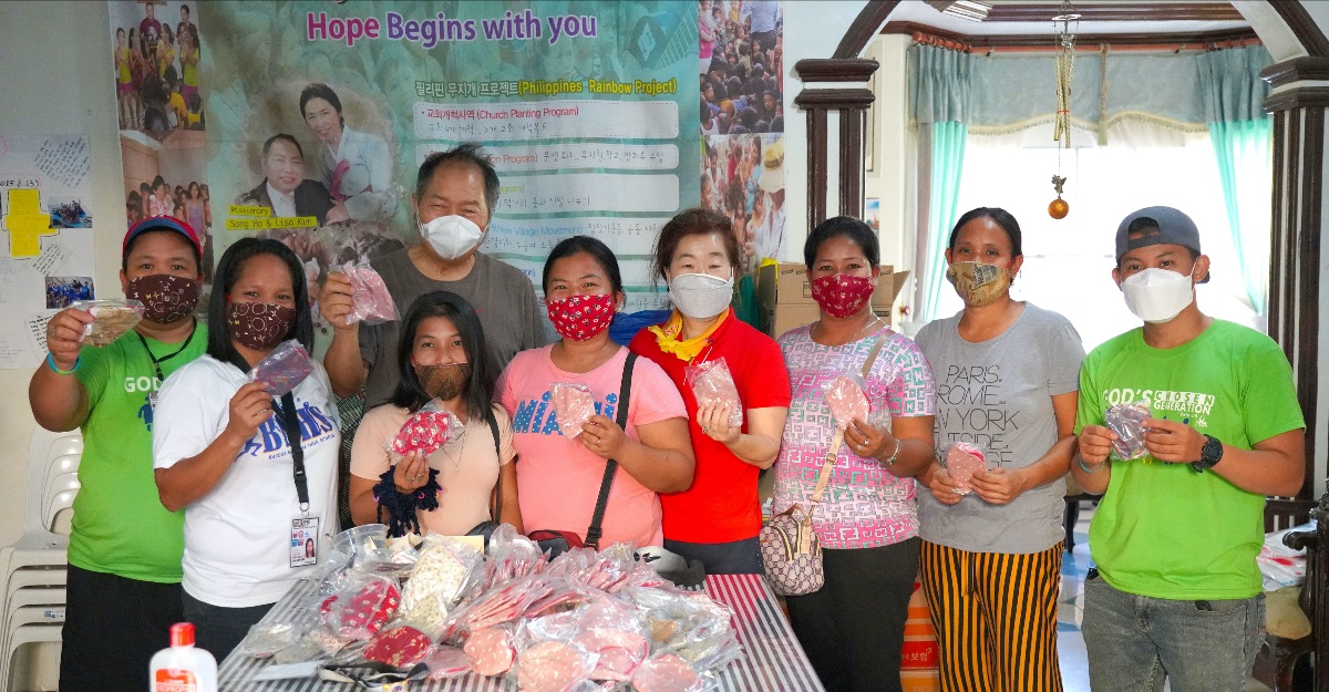 Mask Donations in the Philippines